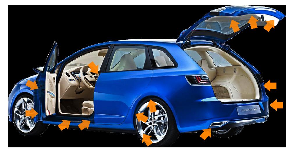 Detailingowe mycie karoserii auta