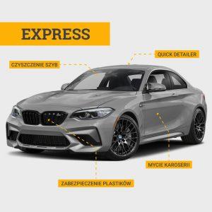 Mycie auta Express