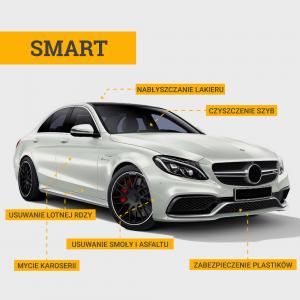Auto Detailing - Mycie zewnętrzne SMART