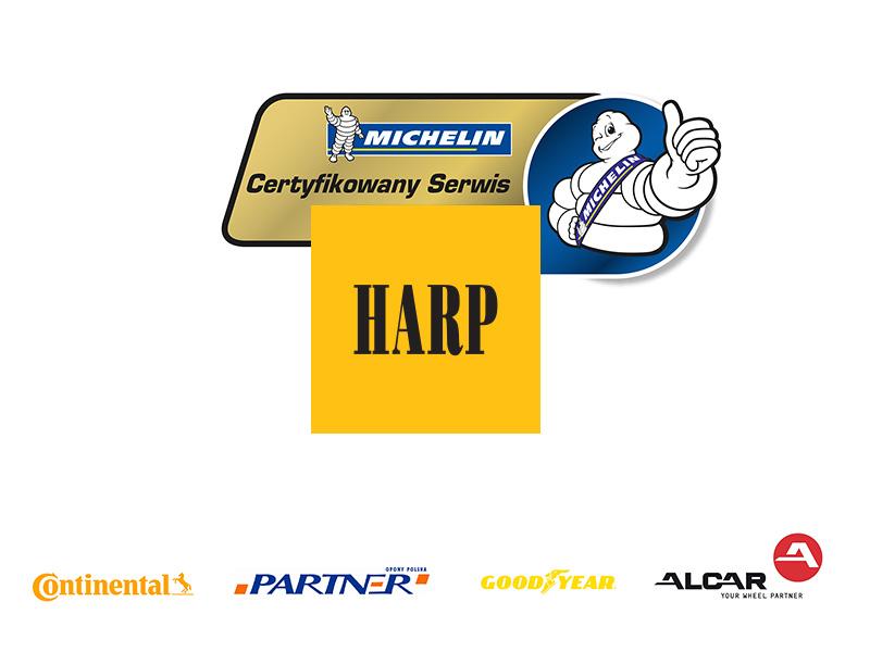 Certyfikaty serwisu opon HARP