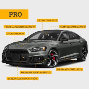Pakiet mycia zewnętrznego PRO Auto detailing HARP