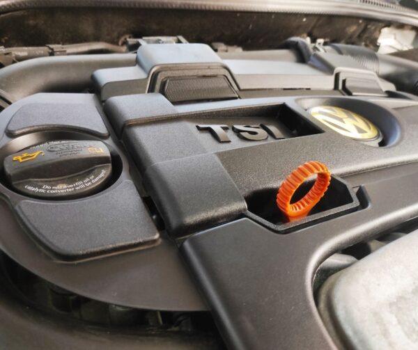 Zabezpieczenie i mycie silnika Volkswagen VW TSI