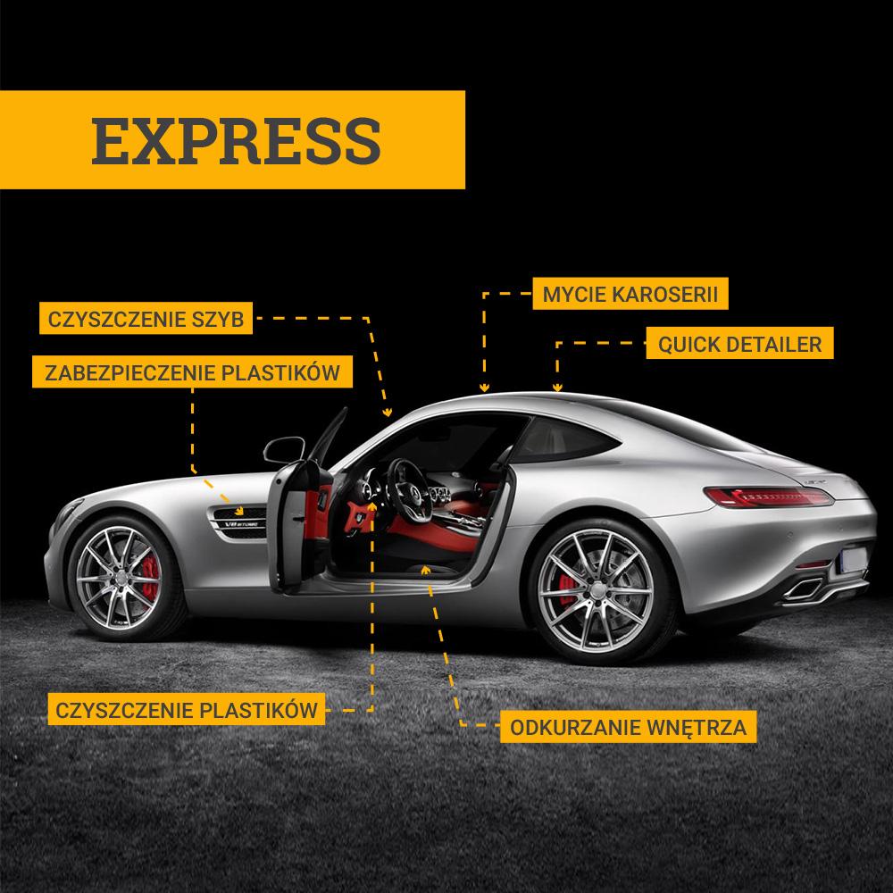 Auto - Myjnia - pakiet mycia Express