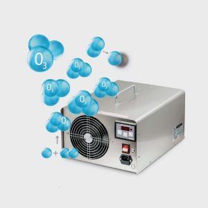 Dezynfekcja - ozonowanie klimatyzacji samochodowej i wnętrza auta