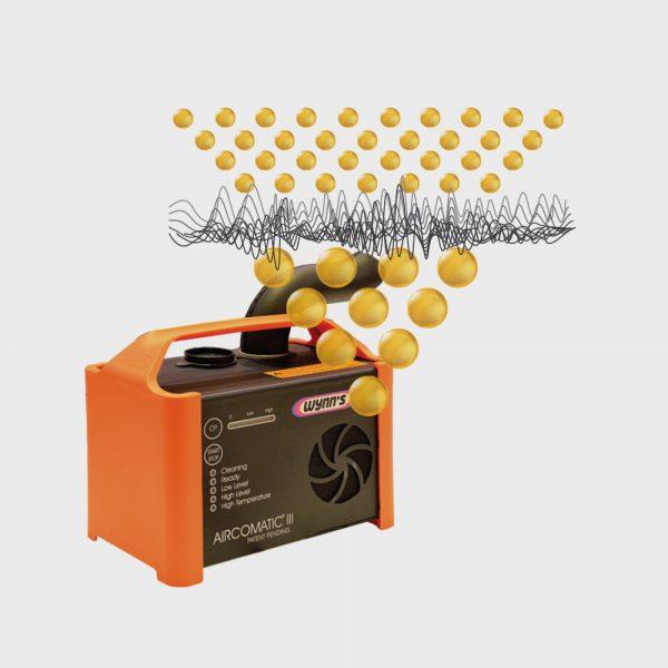 Dezynfekcja klimatyzacji metodą ultradźwiękową Wynn's