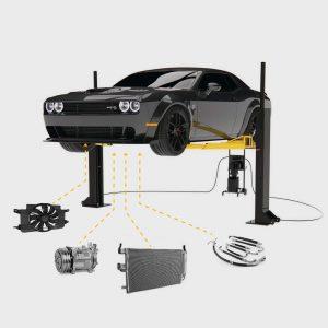Serwis i naprawa klimatyzacji samochodowej