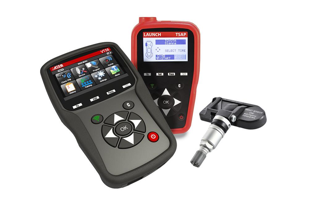 Kalibracja czujników ciśnienia TPMS